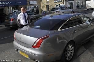 Jaguar Cameron David Cameron Parking Prime Minister Leaves His Jaguar In