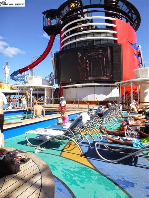 pool areas aboard the disney magic cruise ship travel