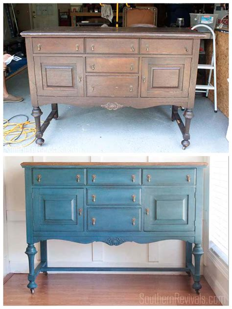 Diy Dining Room Server An Antique Sideboard Buffet The Client Files