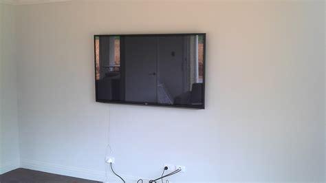 flat screen tv av wall mounting