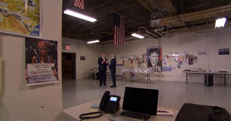 donald trump inside the hq of maybe the next us president inside trump s caign headquarters videos cbs news