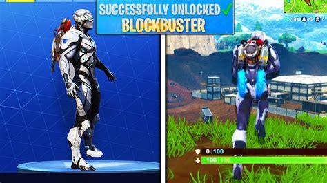 blockbuster skin unlocked blockbuster skin gameplay