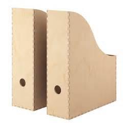 Cardboard Magazine Holders Knuff Zeitschriftensammler 2 St Ikea