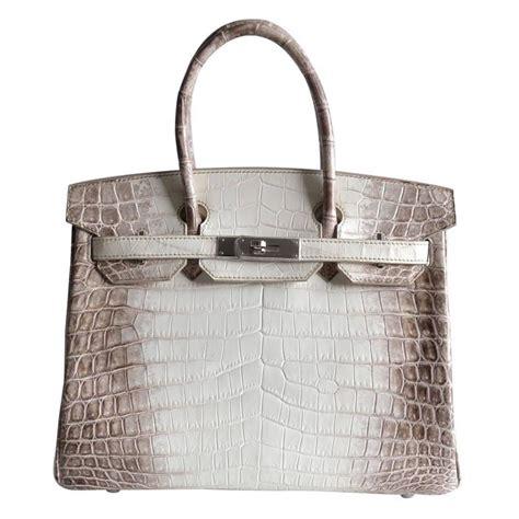 Tas Hermes Birkin Himalaya Fashion new herm 232 s birkin 30 himalaya white matte niloticus 2015 at 1stdibs