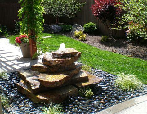 Patio Fountains by Outdoor Patio Fountains Design Ideas