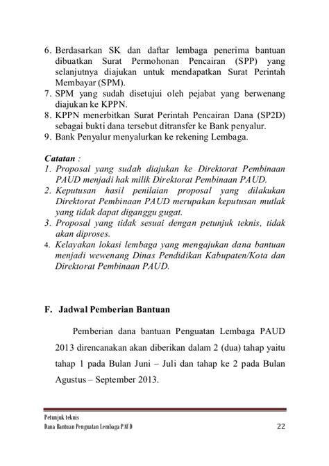Surat Permintaan Barang Ditujukan Ke Direktur Rsu by 25 Bantuan Penguatan Lembaga Paud