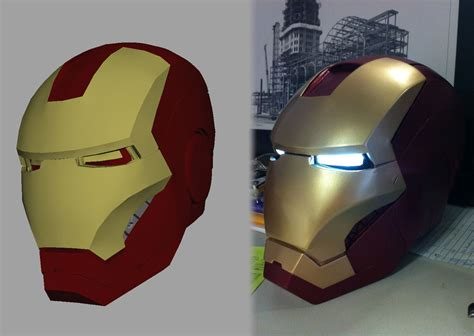 How To Make A Ironman Helmet Out Of Paper - an iron helmet 3 top methods iron helmet