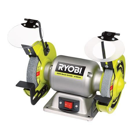 4 bench grinder ryobi 250w 150mm bench grinder bunnings warehouse