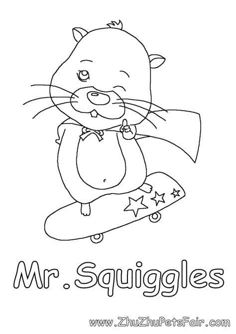 zhu zhu pet coloring pages az coloring pages