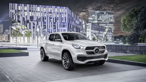 mercedes benz  class pick  concept revealed