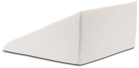 intevision foam wedge bed pillow intevision extra large foam wedge bed pillow 33 x 30 5