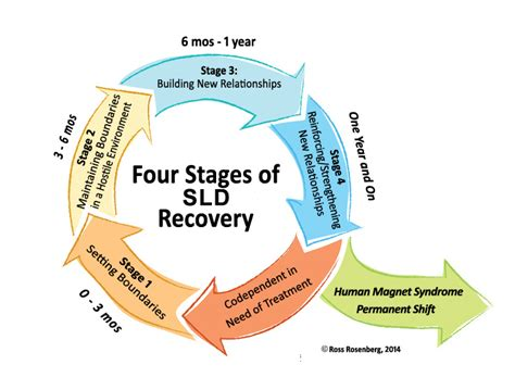 4 Stages Detox by The Four Stage Model Of Self Deficit Disorder