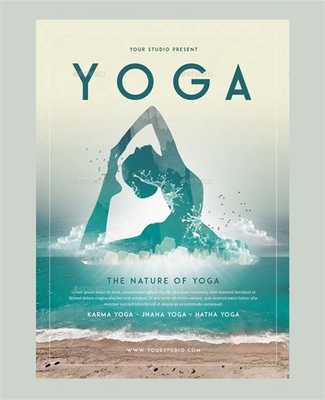 templates for yoga flyers 23 yoga flyer psd templates free premium designyep