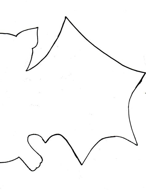 bat template the 25 best bat cut out ideas on bat stencil