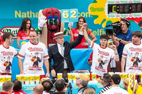 nathans famous hot dog eating contest competitive eating blog and photography