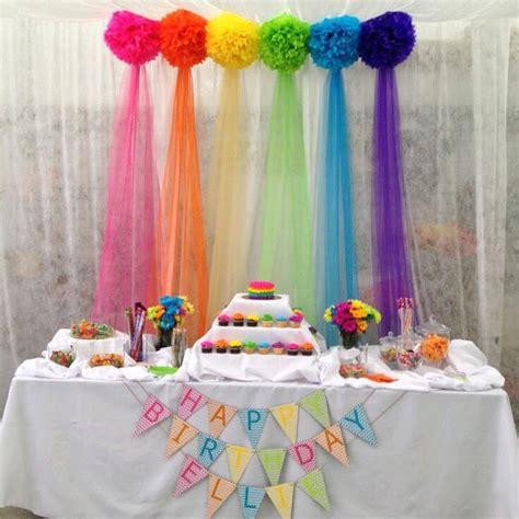 decorar paredes fiesta infantil usa tul para decorar tus fiestas dale detalles