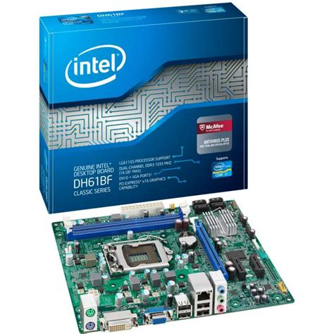 Intell Search Intel 174 Desktop Board Dh61bf Product Specifications