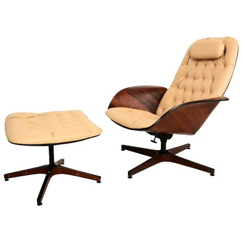 plycraft chair and ottoman plycraft mr chair and ottoman by george mulhauser at 1stdibs