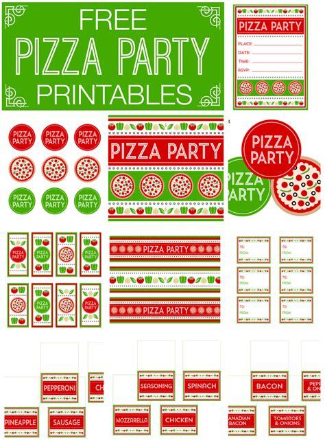 pizza party invitation template free oxsvitation com
