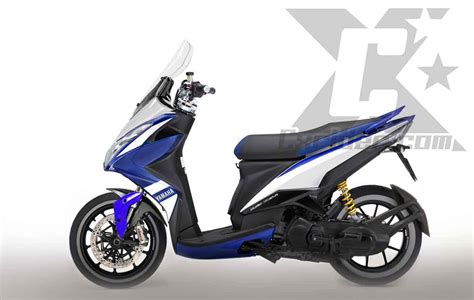 Modifikasi Motor Matic Yamaha Xeon by Koleksi Variasi Motor Xeon Modifikasi Yamah Nmax