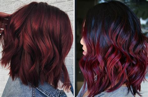 wine hair color mulled wine hair is the coolest new hair color trend for