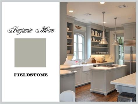 fieldstone kitchen cabinets fieldstone by benjamin moore color inspiration