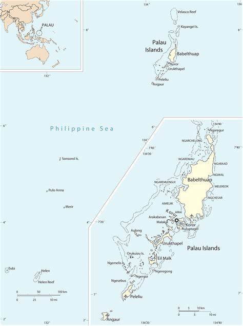 palau map palau driverlayer search engine