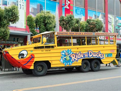 duck boat sf farewell quacking tourists ride the ducks abruptly
