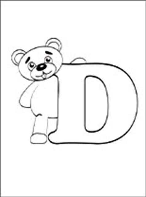lettere dell alfabeto da colorare e stare gratis disegni da colorare lettera d disegni da colorare gratis