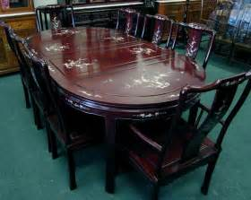 china tisch rosewood dining table set abalone shell of pearl