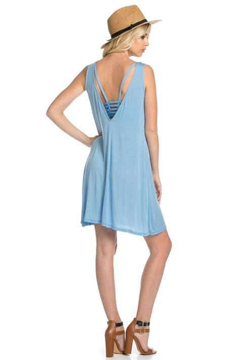 a dress the color of the sky books inance look back in longing mini dress sky blue