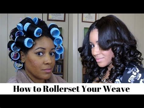 images for bob hair cut using rollers how to roller set your weave youtube