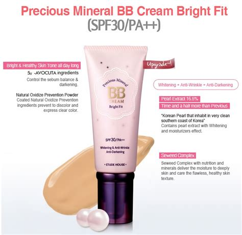 Harga Etude House Precious Mineral Bb precious mineral bb bright fit linkiolin indonesia