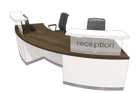 classic curved reception desk 4