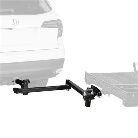 swing away trailer hitch rage powersports swing away option for hitch mobility