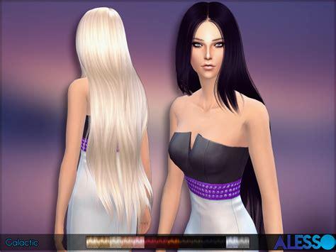 Sims 4 Longest Hair | anto galactic hair