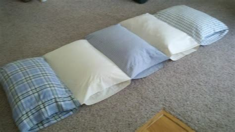 pillow bed diy 17 best images about kids bedroll on pinterest pillow