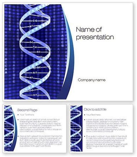 what is template dna dna strands and templates on