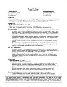 Resume Work Experience Format 8 Student Resume Samples No Experience Servey Template