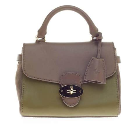 Feeble Bag Mokamula Brown Primerose mulberry primrose satchel leather at 1stdibs