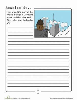 retell new year story new york city worksheet education