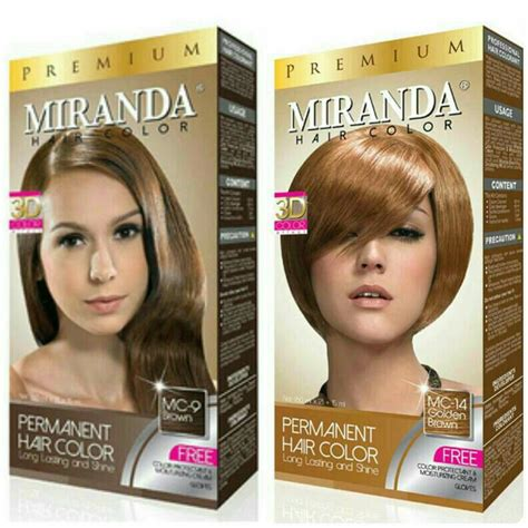 jual miranda hair color premium cat semir rambut besar cosme store