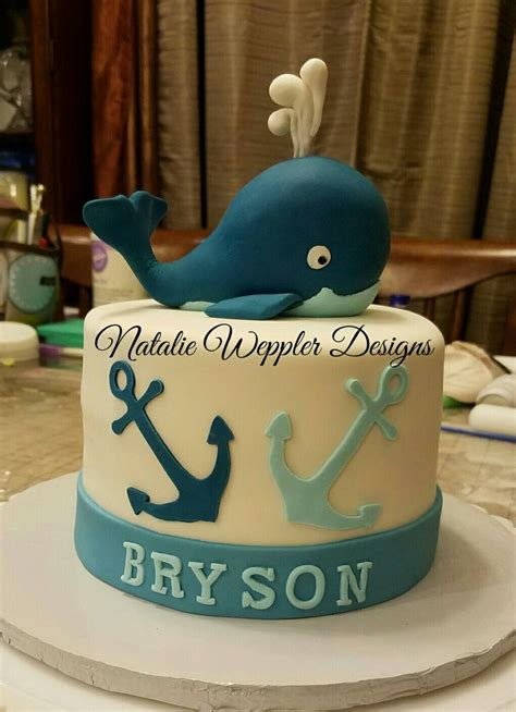 Baby Shower Cakes Nautical Theme by This Baby Shower Cake Features A Nautical Theme With A
