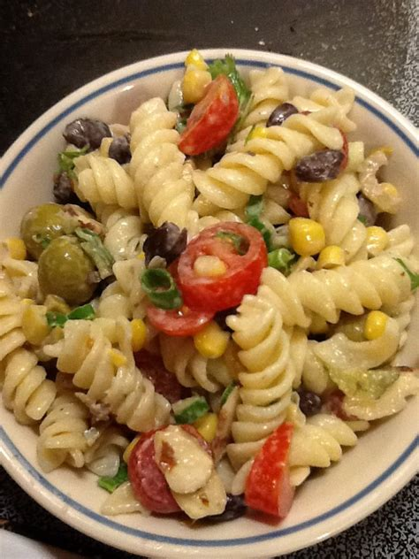 best pasta salad the best pasta salad ever i made from pioner women