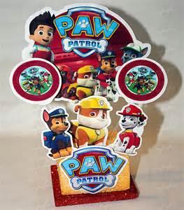 adorno econ 243 mico paw patrol la huella cotill 243 concepci 243 del uruguay entre 237 os