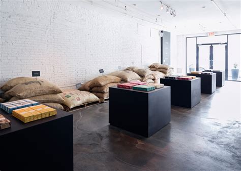 home brothers design brooklyn minimalist space created for mast brothers chocolate in nyc