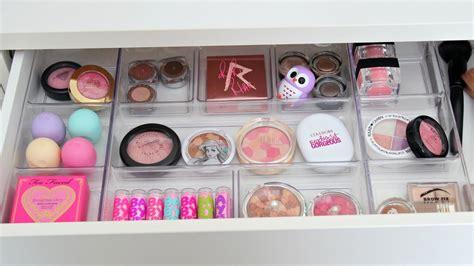 Office Desk Organization Ideas Vanity Makeover Makeup Organization Amp Storage Ideas