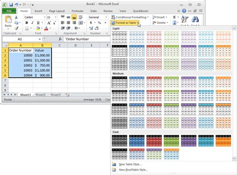 format excel rows to alternate colors ms excel 2010 automatically alternate row colors one