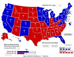 Obama 2012 Election Map reuters electoral map obama crushes romney business