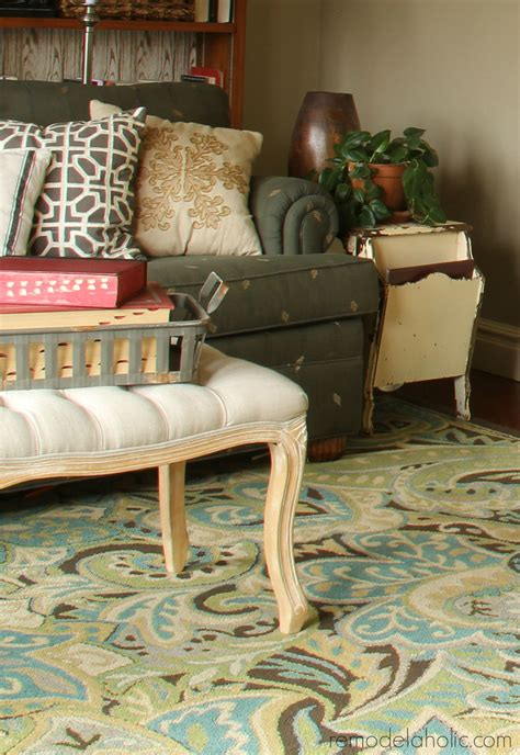 throw rugs for living room remodelaholic 20 green and blue area rugs you ll love